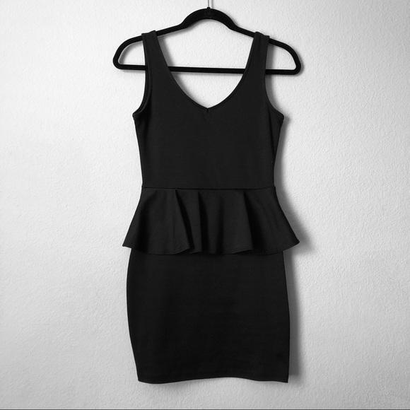 Body Central Sale >> Body Central Dresses Sale Black Peplum Dress Poshmark
